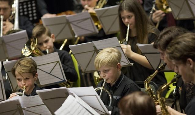 De fanfare SNK Weelde is gezegend met een groot aantal getalenteerde jeugdige muzikanten.
