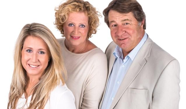 Fraukje, René en Elleke Werner.
