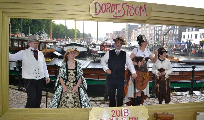 Dordt in Stoom is één van de evenementen in de stad. (foto: Arco van der Lee)