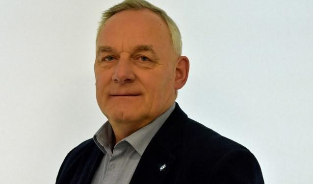Fractieondersteuner en kandidaat voor het waterschap Jannus Vossebelt van de SGP. Foto: FG Kayim.
