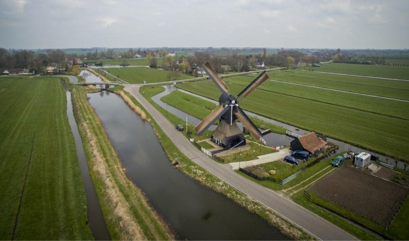De molen in Hoornaar krijgt ook een onderhoudsbeurt.