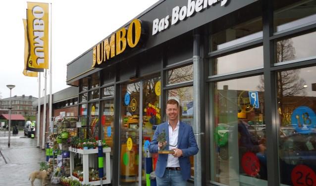 Bas Bobeldijk is franchisehouder van de Jumbo in Nieuwkoop, waar hij zich met een bijzondere aanpak op de kaart zet.