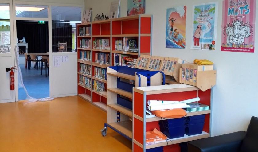 Er is voor ieder wat wils in de nieuwe schoolbibliotheek.