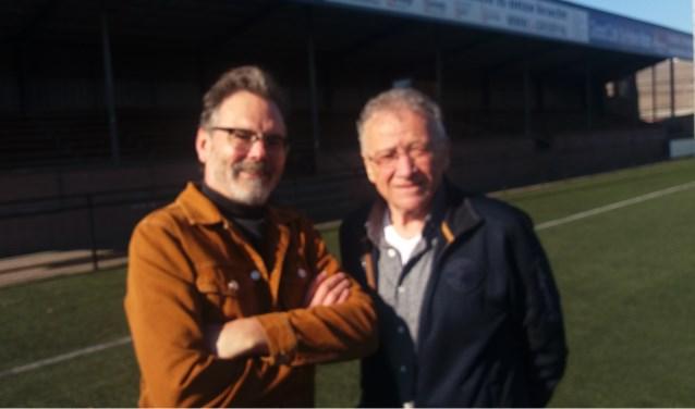 Links de nieuwe voorzitter Cees Kouwenhoven en Theo de Reuver, de man die Walking Football introduceert bij RVC / Celeritas