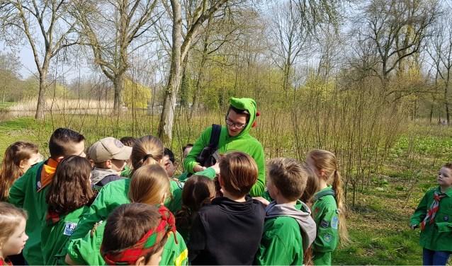 Tweehonders welpen speelden zaterdag het Gouden Draakspel in het Beatrixpark