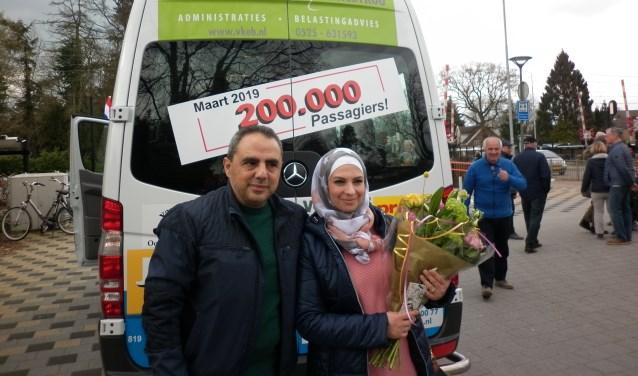 Het echtpaar Badawi. (Foto: Henk Blok)