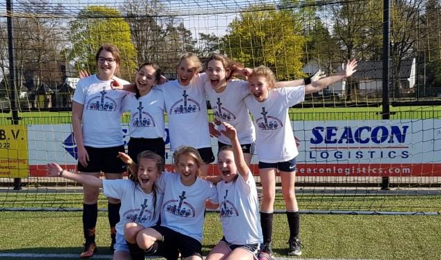 Bij de meiden was groep 8 van Agnetendal de eindwinnaar. Sommigen van hen willen nu zelfs op voetbal.