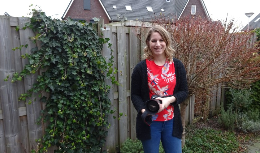 Neline Akkermans - Van den Bos uit Sliedrecht weet goed wat ze wil. (Foto: Eline Lohman)