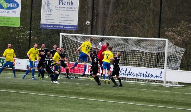 Hatto-Heim verliest met 1-2 van ZAC. Foto: Gradus Dijkman