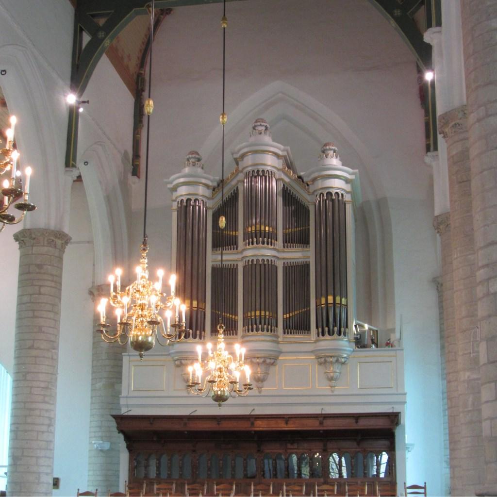 Batz-Witte orgel Hervormde Kerk Kapelle Foto: Corinda Christiaanse © Persgroep