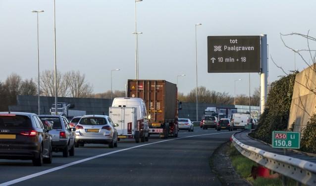Knooppunt Ewijk-Bankhoef Paalgraven.