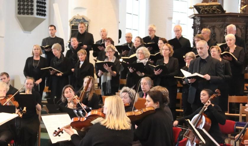 Er was veel belangstelling voor de Johannes Passion in de Barbarakerk te Culemborg