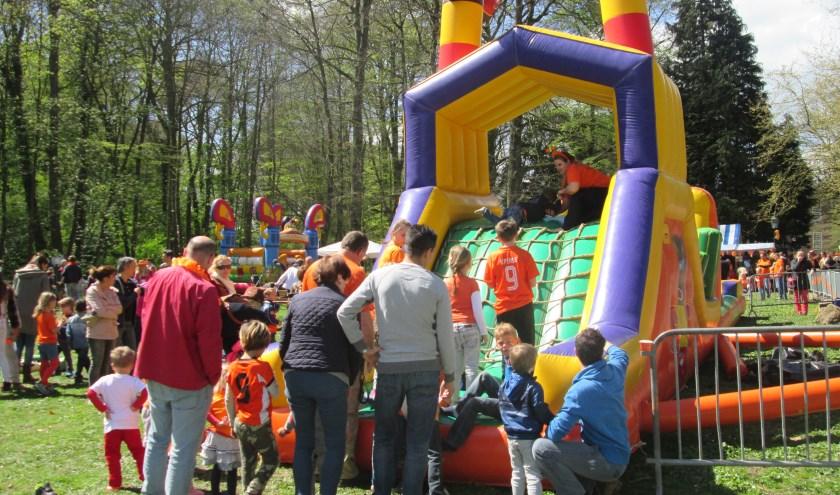 Koningsdag met activiteiten op Park Goudestein. Archieffoto: Ria van Vredendaal