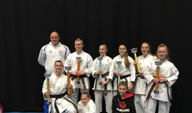 Karateka's van Karatesportschool Adriaan Spee
