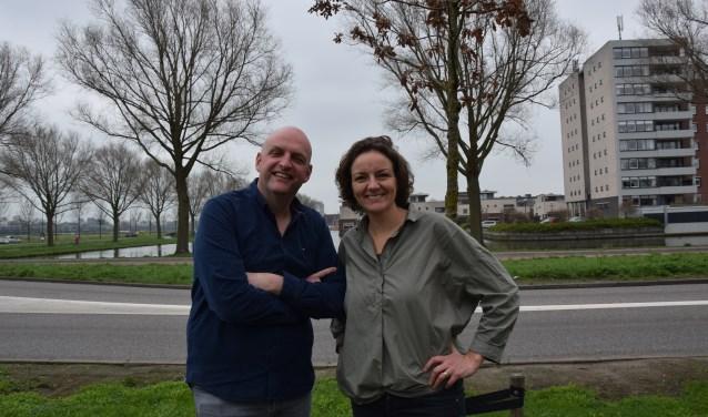 Bas en Nynke Meuleman, eigenaars van social-mediamarketingbureau Bocavista. Foto: Key Tengeler
