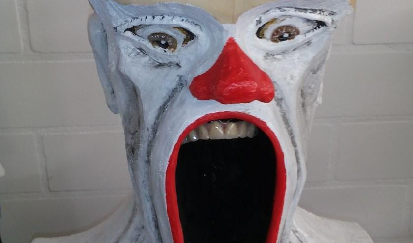 In beeld gebracht: kunstwerk Big Mouth. (persfoto)