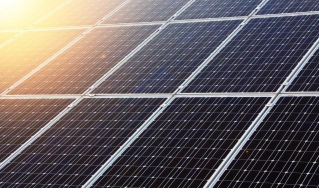Zonnepanelen wekken groene stroom op
