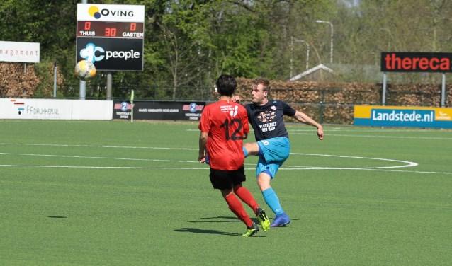 VV Den Ham won met 1-3 van Be Quick'28. Foto: Herman van de Schuur