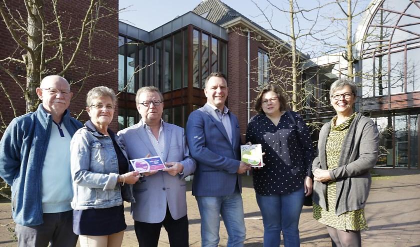De collectes in Leende en Heeze worden los van elkaar gehouden, maar de twee comités werken samen waar mogelijk. Foto: Jurgen van Hoof