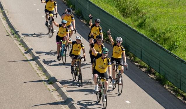 Deelnemers aan de Freedom Ride hebben de keuze uit een recreatieve tocht van 35 kilometer, de pelotontocht van 90 kilometer, vrije toertochten van 75 en 130 kilometer voor de racefietsers. Eigen foto.