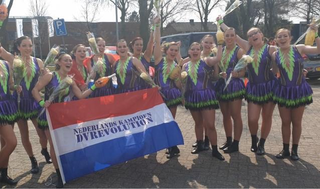 De Mars Dansgroep van dansvereniging Revolution is Nederlands Kampioen geworden! (foto: Claudia Reesink)
