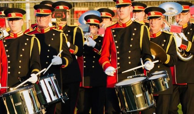 Show- en Marchingband Cornu Copiae uit Waalwijk is op 5 mei van de partij tijdens Taptoe Drunen.