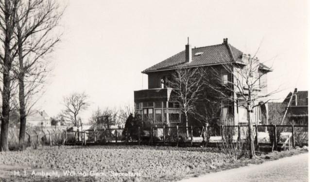 De woning van de (toenmalige) gemeentesecretaris.