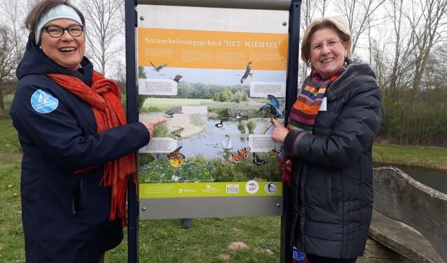 Het natuurbelevingsgebied Het Wiemselin Ootmarsum is officieel geopend.