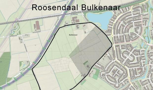 Visualisatie van locatie Bulkenaar, Roosendaal.