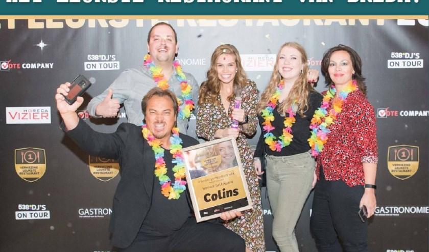 Colins gehuldigd tijdens Award Festival in Amsterdam