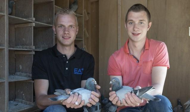 Kampioenen 2018 Thijs (links) en Bart Hoogeveen.