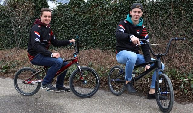 De broers Nick en Ryan Roelofs(foto: Marco van den Broek)