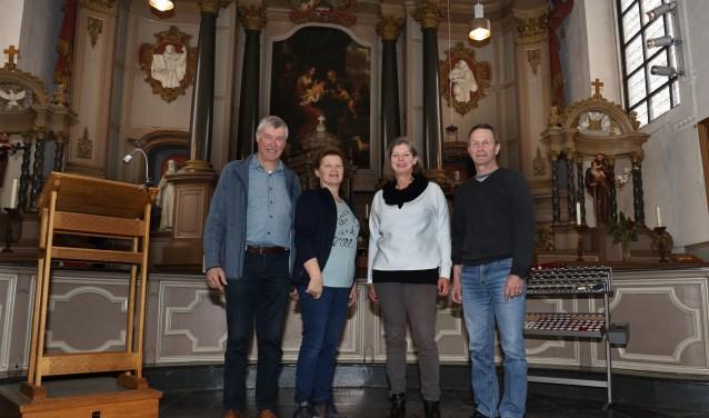 Het monumentale Emmausklooster is de setting van de uitvoering. (foto Marco van den Broek)