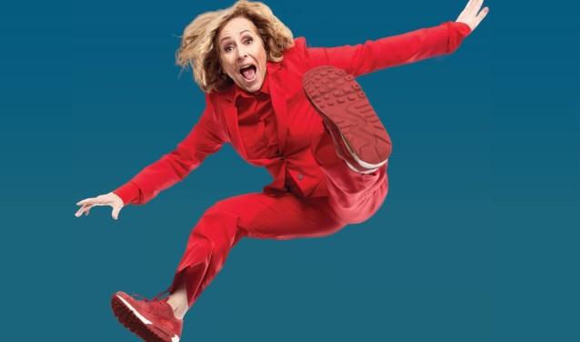 Angela Groothuizen wordt in september 60 jaar, maar zit nog vol energie. (Foto: Marthe Hennink)