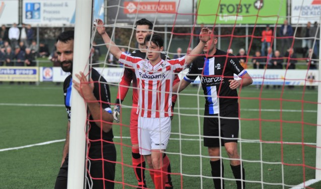 Kaj Schuppens, het veelbelovende talent scoorde zaterdag twee keer.