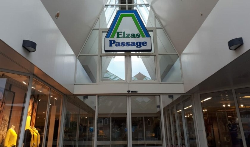 Aanstaande ondernemers kunnen een winkel in de Elzas Passage winnen. Foto: indebuurt.