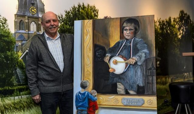 Guus Goossens liet zich door Rembrandt inspireren en maakte ESTHER als hommage aan de beste schilder die Nederland ooit heeft gehad. Guus Goossens liet zich door Rembrandt inspireren en maakte ESTHER als hommage aan de beste schilder die Nederland ooit heeft gehad. Foto: Ton van de Vorst