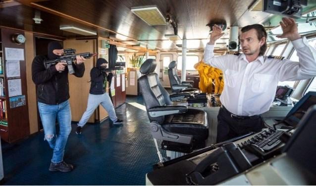Beschermingsoefening Port Defender. Foto: PR Politie