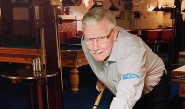 Bram Speijer, de maker van de kortste partij driebanden
