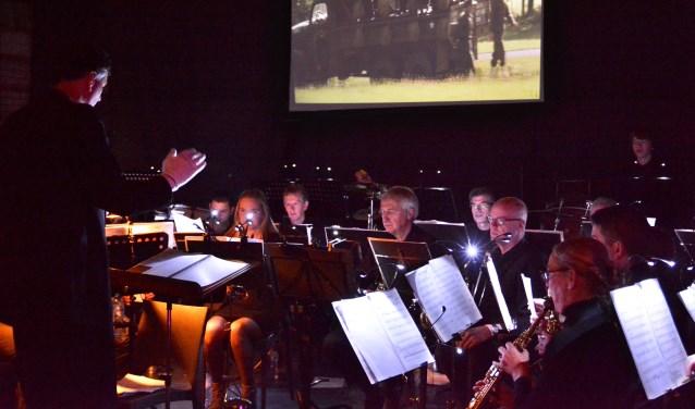 Muziekvereniging St Lambertus verzorgt samen met koor Con Fervore een pop/rock concert. Foto: José van den Dungen.