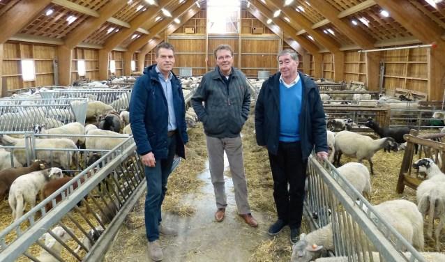 De organisatiecommissiebestaat uit drie Euphonianen en drie EMK'ers, te weten Patrick Hettinga, Gerard Klanderman en Mente Raven (vlnr).