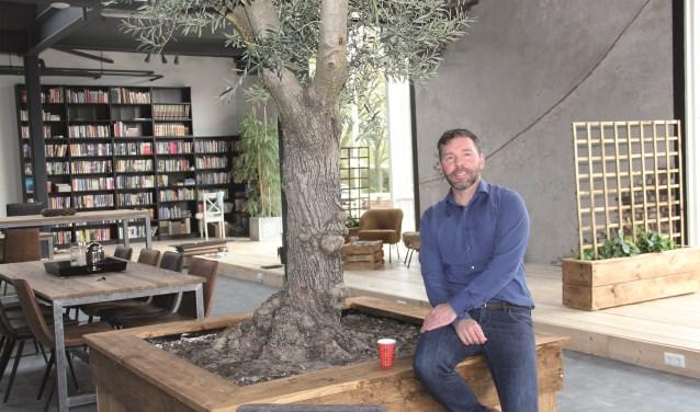 """Voorganger/dominee Christiaan Vos in de nieuwbouw: """"Het echtheidsgehalte van KerkvoorNu is hoog."""""""