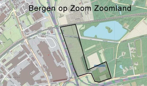 Visualisatie van locatie Zoomland, Bergen op Zoom.