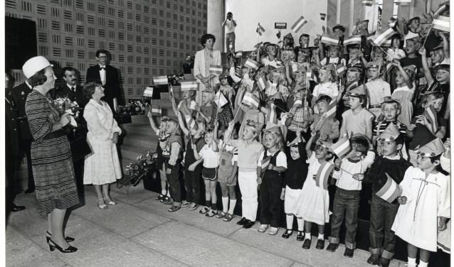 De opening met toenmalig koningin Beatrix