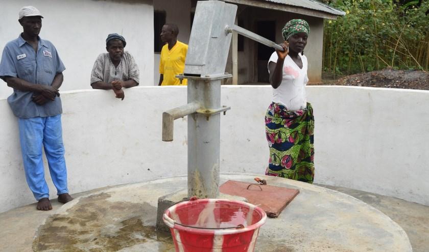waterpomp in Sierra Leone