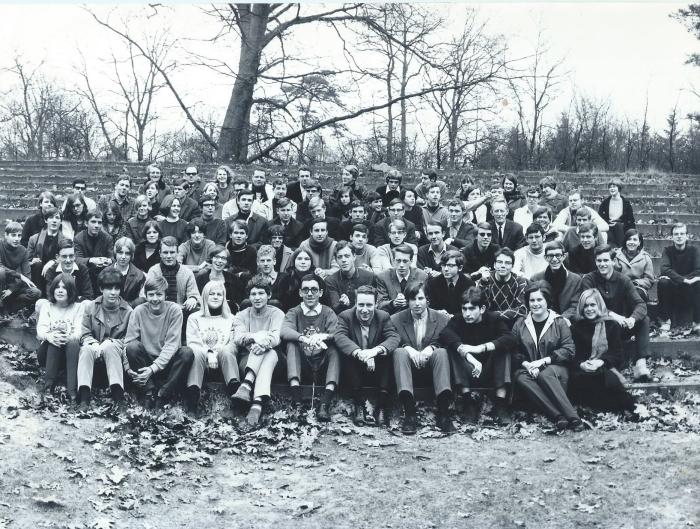 klas 5 HBS en MMS in 1967