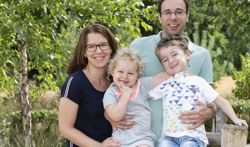 De familie Deckers uit Kerkdriel maakt zich 11 mei sterk voor twee goede doelen: de stichting Spieren voor Spieren en Stichting Opkikker.