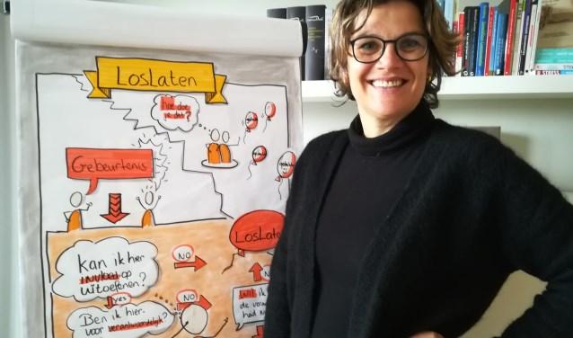 Edith Houben uit Elst doet mee aan het traject Ontwikkeladvies voor 45-plussers. (foto: Hannie Schrijver)