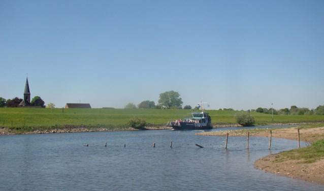Boottocht richting Griethausen