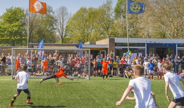 Finale Bunnik 73 JO 11-1 tegen Odijk JO11-1 gewonnen door Odijk middels penalty's